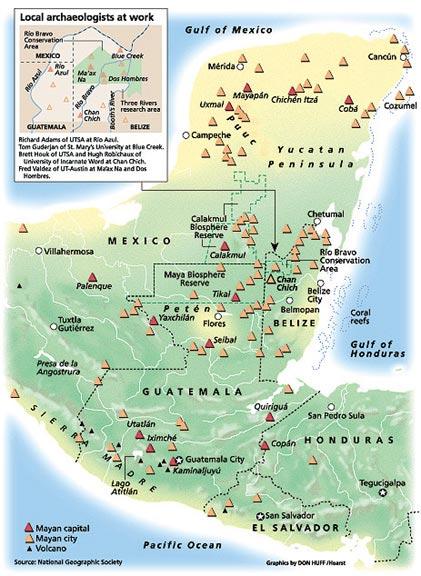 Mayan Civilization, Ruins and Culture